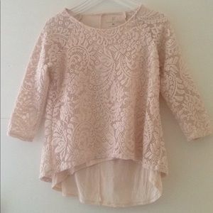 Women's XS New York & Company Lace Blouse